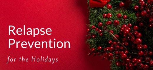 Learning to recognize and cope with holiday stress can prevent a holiday relapse.