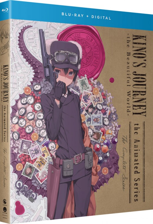 Anime Review: Kino's Journey - The Beautiful World- blu-ray cover.