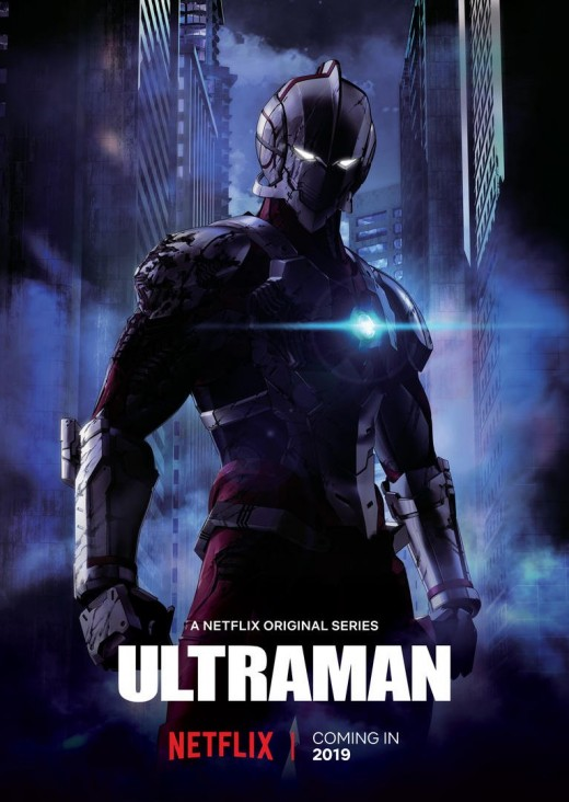 Poster for the Ultraman Netflix exclusive