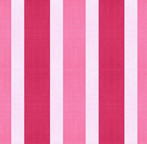 Using striped fabric is similar to applying wallpaper.