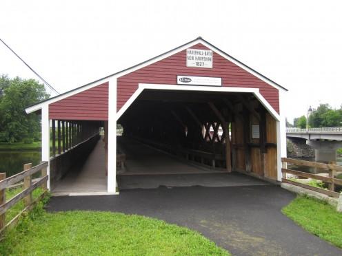 Haverhill-Bath Covered Bridge - Woodsville, New Hampshire