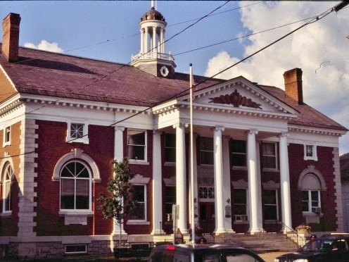 Built in 1902 by Healy Cady Akeley this is the second town hall in Stowe and now also houses the Stowe Historical Museum.