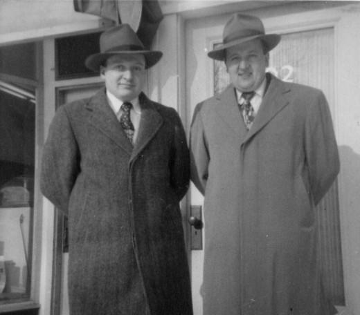 Brothers, Bob & Ed Vidler  (now deceased)