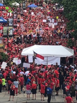 #RallyForEducation:  Educators, Parents Stand Up Because #CutsHurtKids