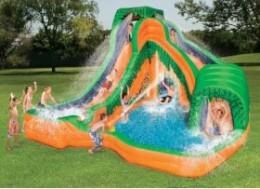 Fun on the Jungle Blast Water Park