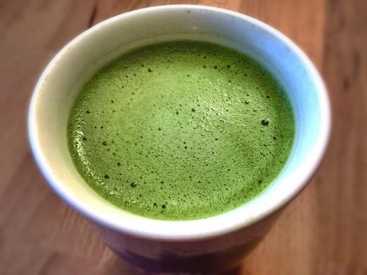 Authentic Matcha Green Tea Latte