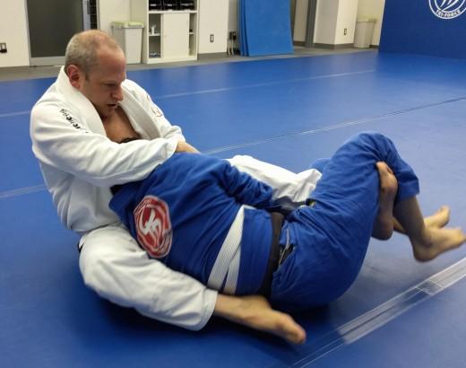Teaching a beginner Brazilian Jiu-Jitsu