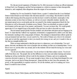 #StudentsSayNo:  The Kids Speak Out