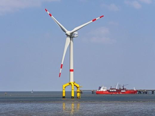 Offshore turbine.