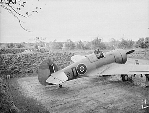 An RAF Mohawk IV in India 1943