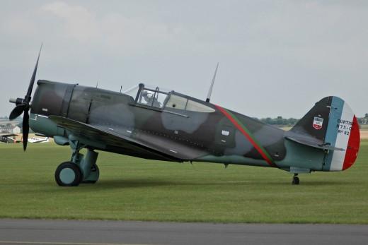 A Curtis Hawk 75