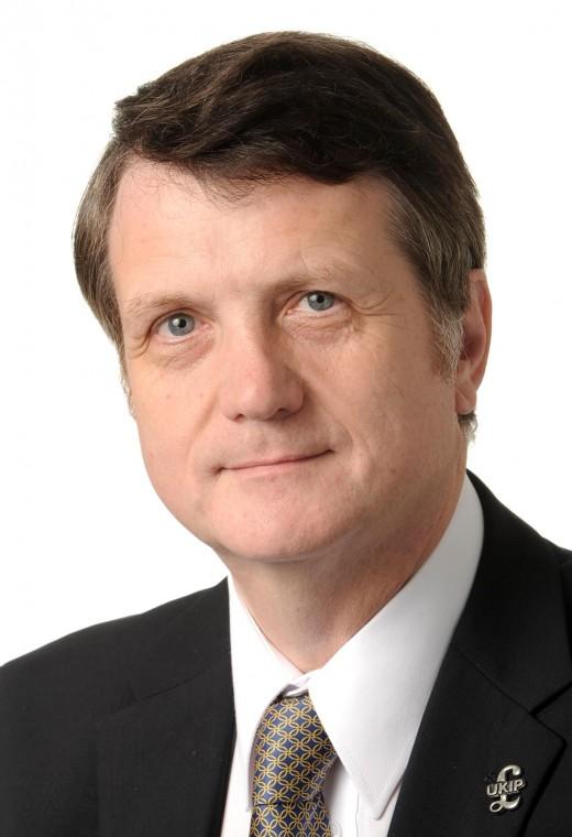 Gerard Batten:  Leader of UKIP.