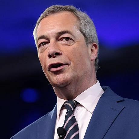 Nigel Farage:  Brexit Party Leader.