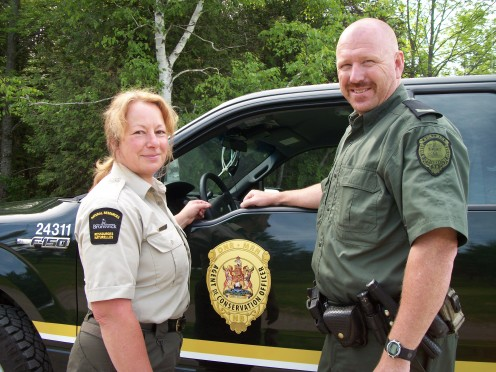 Forestry Service Officers have this special bond that says, we have your back.