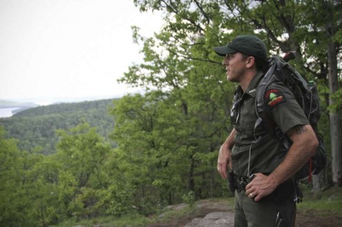 Honestly, there are those times when a Forestry Officer feels lonely as he works.