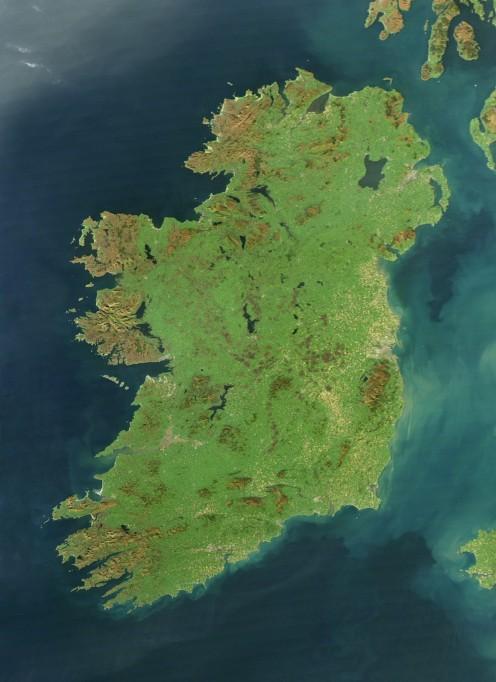 The land of Ireland.