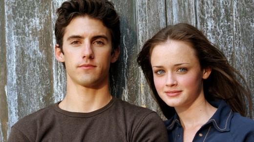 Jesse(Milo Ventimiglia) and Rory (Alexis Bledel)