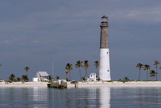 Loggerhead Key lighthouse.
