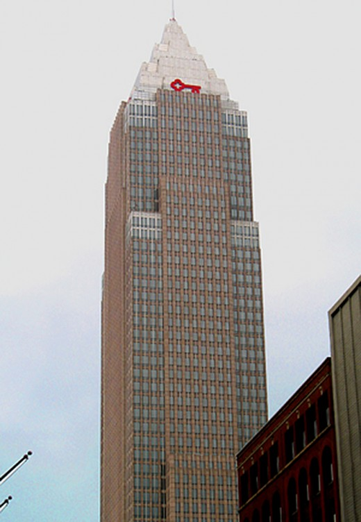 Key Tower overlooking Public Square