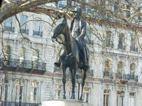 Statue of Ferdinand Foch, Grosvenor Gardens, London