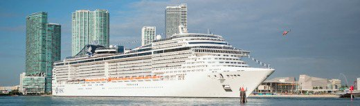 Port of Miami is the most active cruise port in the world. © PortMiami