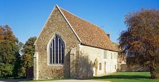 Bushmead Priory Refectory
