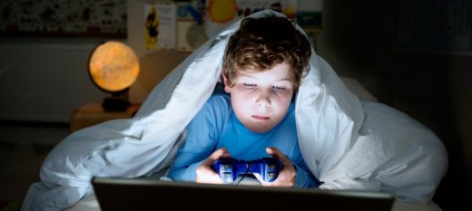 Child plays into the late hours of the night, unchallenged and unaccounted for!