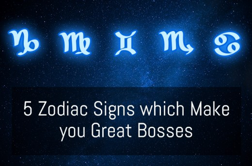 5 Zodiac Signs which Make you Great Bosses
