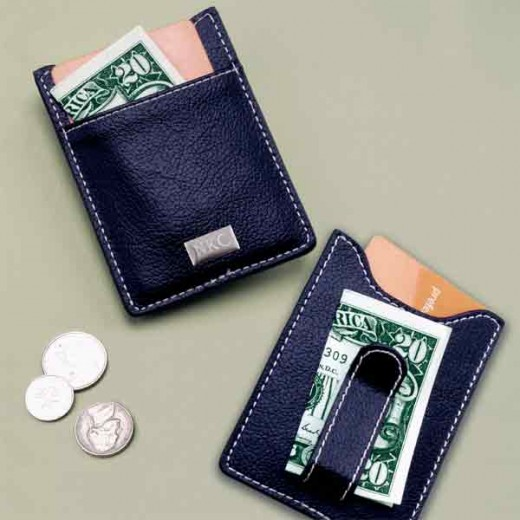 A money clip wallet can be a slim, trim way to organize your plastic and cash.