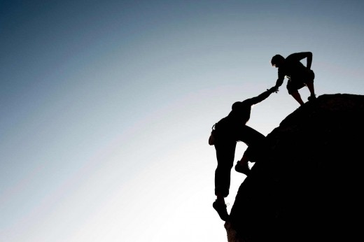 When we lift someone higher than where we are standing, we are true mentors of the world.