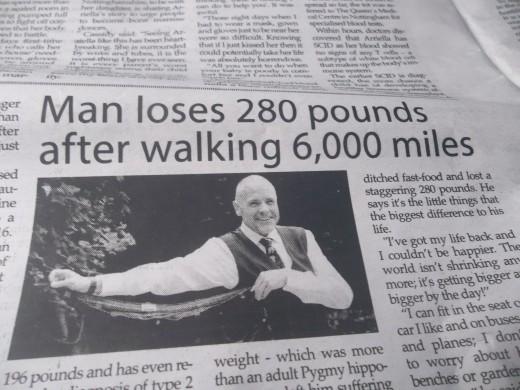 Brisk walking helps reduce body weigh