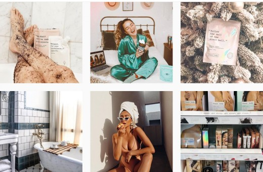 @frank_bod on Instagram– With their catchy hashtag, #letsbefrank, and an army of influencers in tow, Frank Body created a community that consumers were desperate to be a part of it.