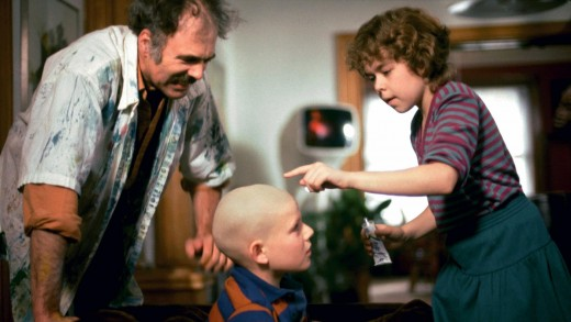 """A still from the 1985 not-so-family-friendly """"children's"""" film, """"The Peanut Butter Solution."""""""
