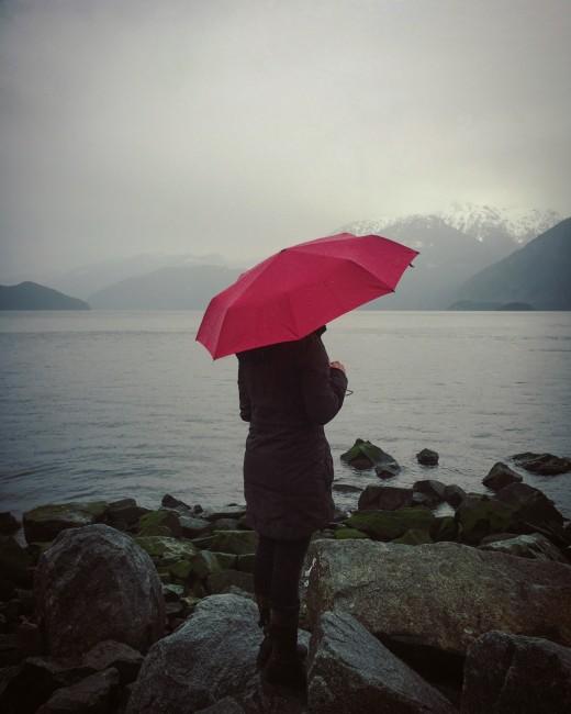 Enjoy sweet solace under a good umbrella
