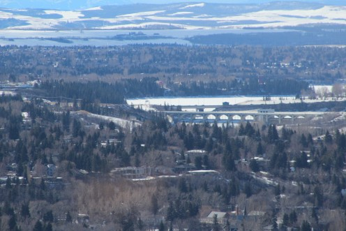 Glenmore Reservoir from the Tower