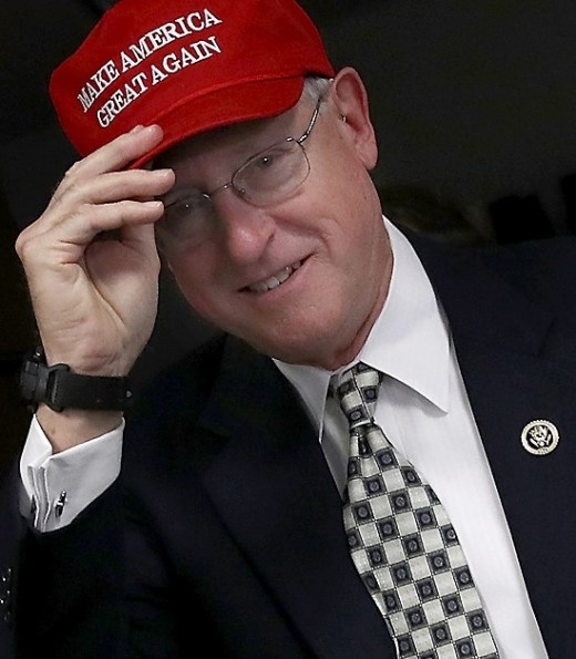 Mike Conaway (TX). Took over the investigation when Devin Nunes stepped down. A Trump supporter couldn't keep the facts out.
