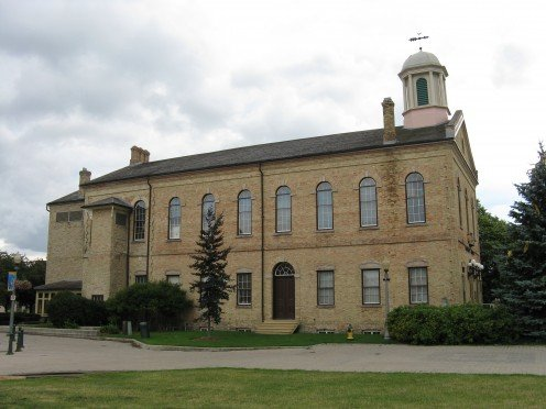 Old City Hall in Woodstock, Ontario.