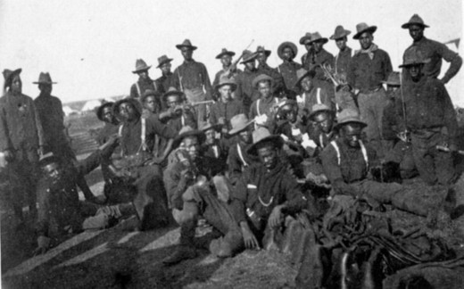 African Americans in the Spanish–American War; Camp Wikoff 1898.