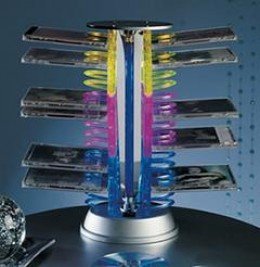 A CD rack can be just plain weird!