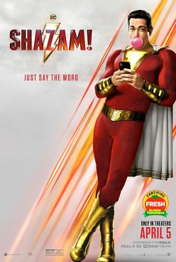 Billy's Magic Word: Shazam!