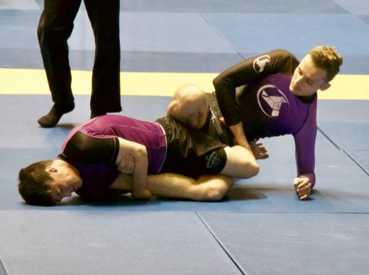 Brazilian jiu-jitsu demands mental toughness on and off the mat.