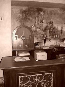 Tower of Terror Hotel Reception Desk