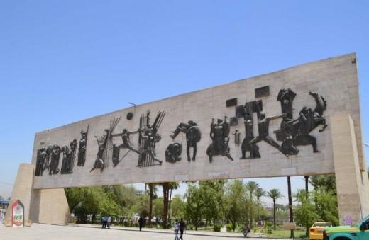 """""""Joad Salem"""" in Liberation Square, Baghdad"""
