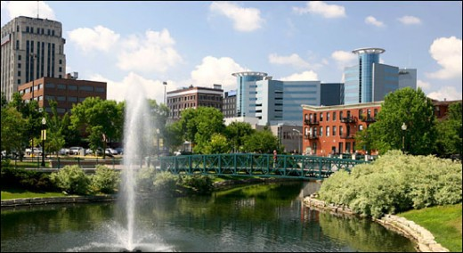 Kalamazoo is just north of Portage, at a point where ancient glaciers stopped descending into what became the Northern United States.