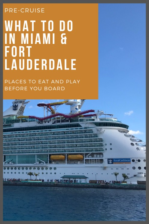 What to Do in Miami the Day Before Your Cruise
