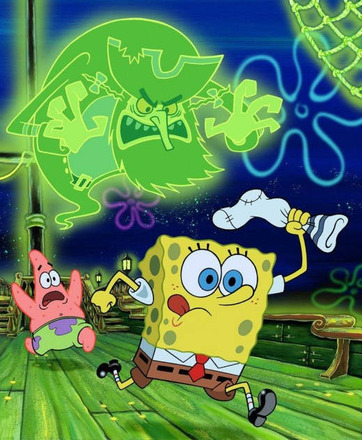 The Flying Dutchman in Spongebob Squarepants by Nickelodeon