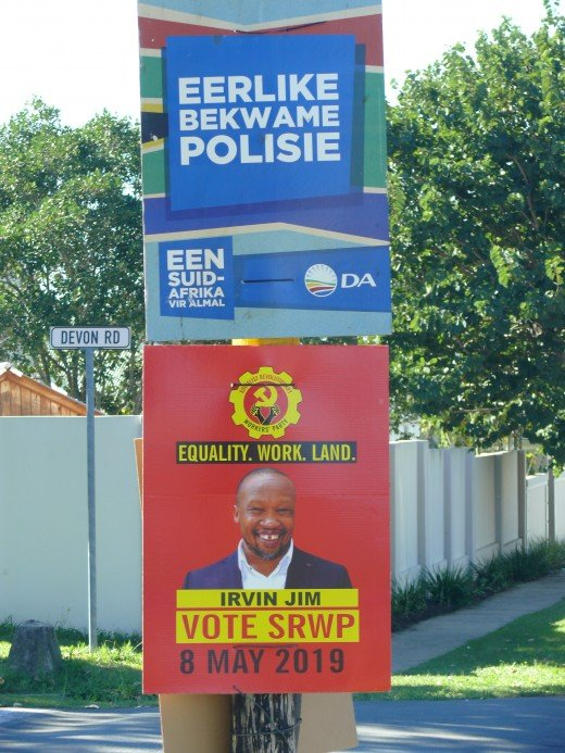 DA and ZAWP posters