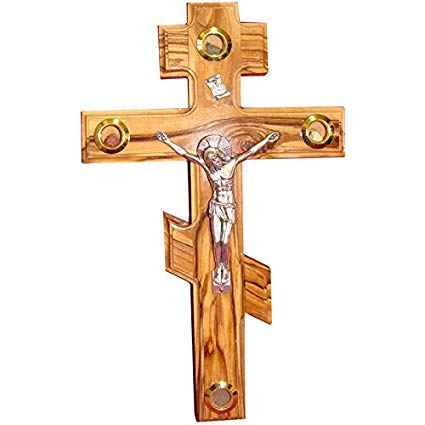 The Orthodox Cross is adorned with Three Bars!