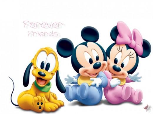 disney cartoon characters