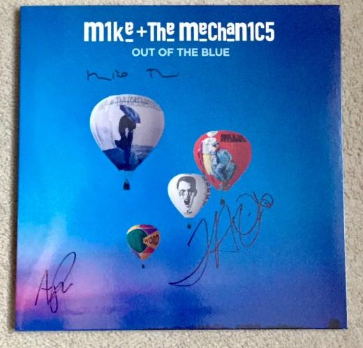 'Out of the Blue' vinyl album
